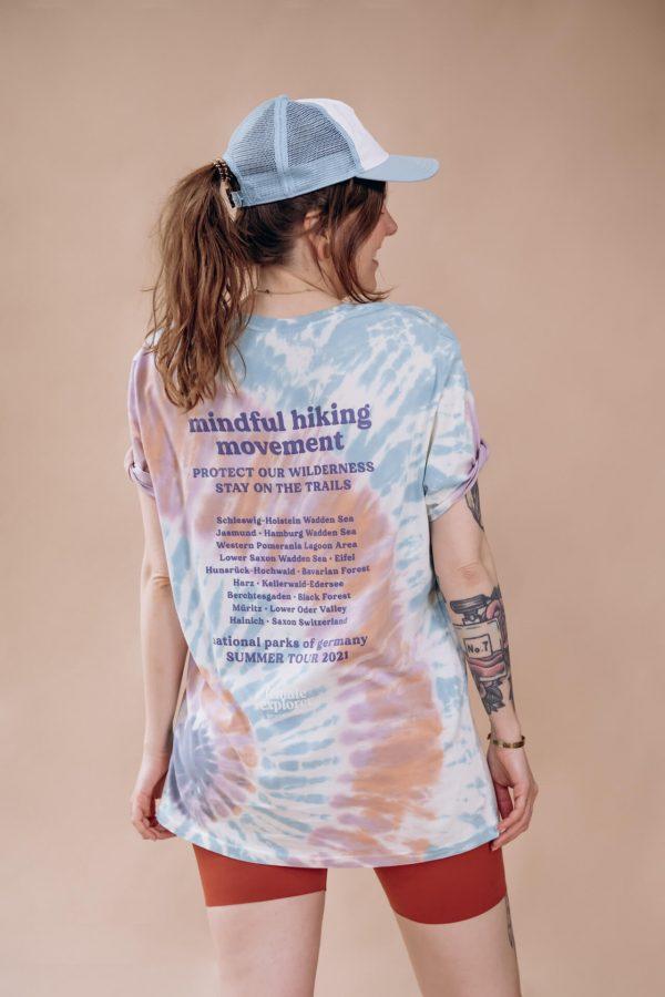 Batik Charity Shirt Bio Baumwolle Boho